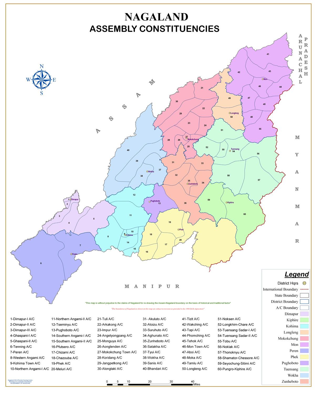 Nagaland Legislative Assembly and its Constituencies