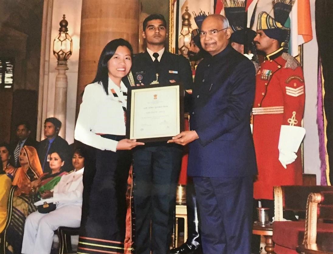 youthnet hekani jakhalu nari shakti award president
